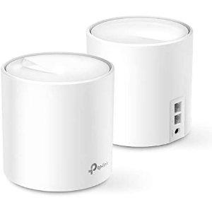 TP-Link Deco X60 WiFi 6 AX3000 全屋WiFi系统 2个