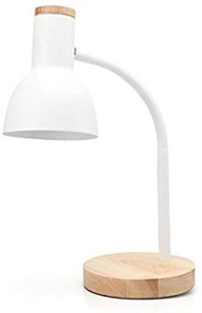 PINSOON LED Desk Lamp with Flexible Goose-Neck 2 Bulb Energy Saving for Bedside Table, Bedroom Study, and Office - - Amazon.com