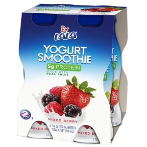 LALA Drinkable Yogurt, Mixed Berry, 7 Oz., 4 Count - Walmart.com
