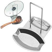 BBDOU 不锈钢锅盖汤勺置放架