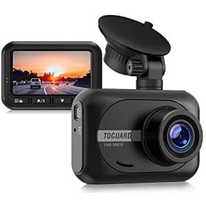TOGUARD Mini Dash Cam 1080P Full HD Car Camera