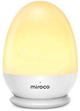 Amazon.com: Miroco Night Lights for Kids, LED Bedside Lamp for Baby Breastfeeding 100% Toddler Safe, Touch Lamp with USB and Stable Charging Pad, Dim Nursery Lamp Warm Night Light, Soft Eye Caring, Timer Setting: Home & Kitchen