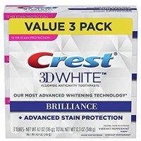 Crest 3D 美白牙膏 3支装