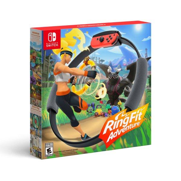 《健身环大冒险》Nintendo Switch 实体版  减肥神器