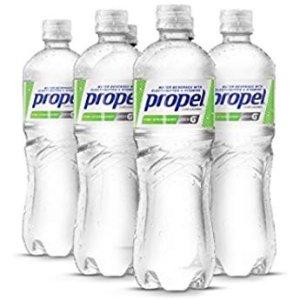 $6.06 一瓶只需$0.5Propel 草莓奇异果口味无糖电解质水500ml 12瓶