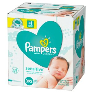 $22.86 + Free $5 Gift CardPampers Sensitive Baby Wipes, Unscented, 14x, 784 count