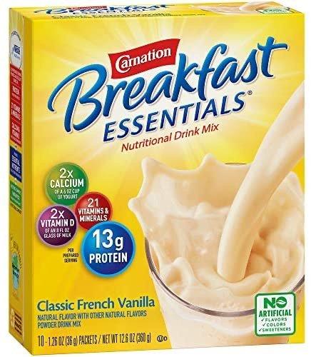 Carnation 经典法式香草速溶早餐奶粉 6盒60包装