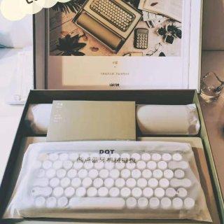 #众测#仙女专用 | Lofree半夏陪伴键盘套装