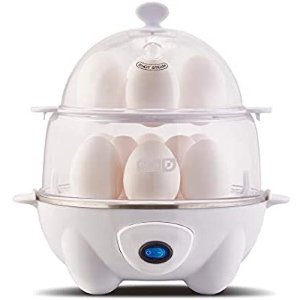 Dash DEC012WH Deluxe Rapid Egg Cooker
