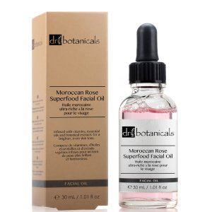 Dr Botanicals Moroccan Rose Superfood Facial Oil 30ml | Free US Shipping | lookfantastic