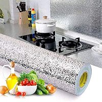 BEMINH 厨房自粘墙面炉灶贴纸 防水防油 15.6 x117inch