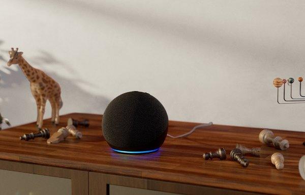 Echo / Echo Dot 4代智能音响,搭载 Alexa 助手