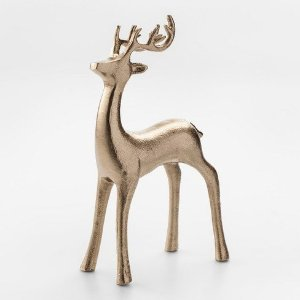 Decorative Figurine Reindeer - Gold - Threshold™ : Target
