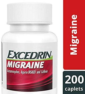 Amazon.com: Excedrin Migraine Caplets for Migraine Pain Relief, 200 count: Gateway