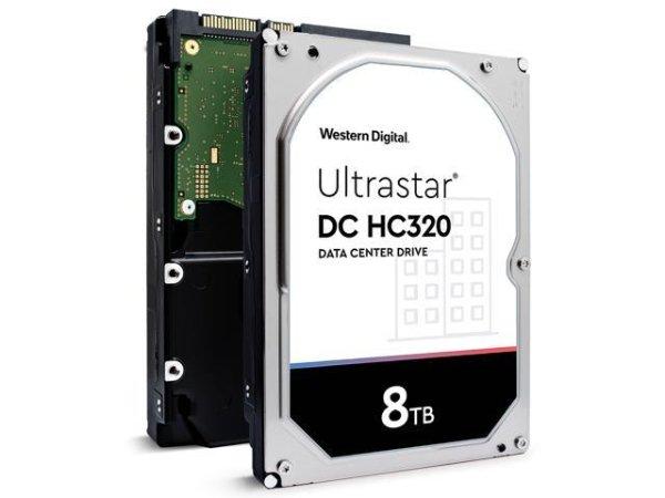 西数 HGST  DC HC320 8TB 7.2K RPM 3.5