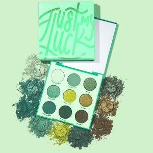 Just My Luck Green Eyeshadow Palette | ColourPop