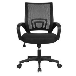 $39.99SmileMart Height Adjustable Ergonomic Mesh Office Chair