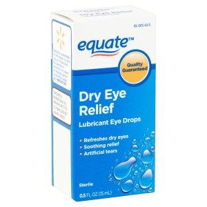 2支$6.60Equate 干眼症缓解型滴眼液 15ml装