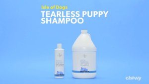 Isle of Dogs Tearless Puppy Shampoo, 16-oz bottle - Chewy.com