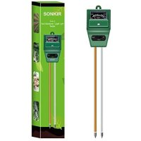 Sonkir 三合一土壤湿度/光照/PH值测试仪