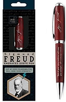 Amazon.com : Sigmund Freud Engraved Quote Pen -
