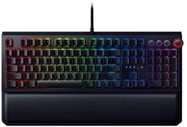 BlackWidow Elite RGB 游戏机械键盘 绿轴