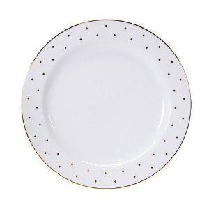 Disposable Dinner Plates, Gold Dots all over, set of 8 - sugar paper™ : Target