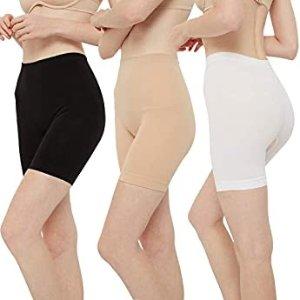 BESTENA  Womens Comfortable Seamless Smooth Slip Shorts