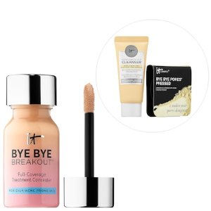 Bye Bye, Breakout! Hello, Confidence! Customizable Full-Coverage Concealer Kit - IT Cosmetics | Seph