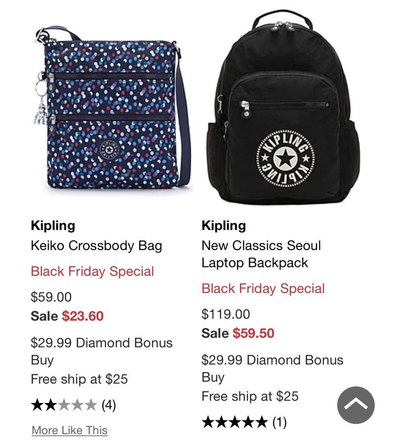 Kipling Handbags, Purses & Accessories - Macy's 猩猩包热卖