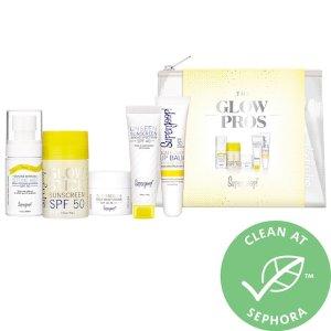 The Glow Pros Kit - Supergoop!   Sephora