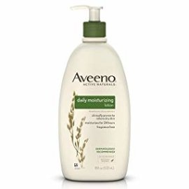Amazon.com : Aveeno Daily Moisturizing Body Lotion with Soothing Oat and Rich Emollients to Nourish Dry Skin, Fragrance-Free, 18 fl. oz : Body Lotions : Beauty