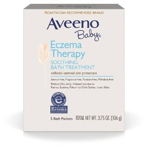 Aveeno Baby Soothing Bath Treatment - 3.75oz - 5ct : Target