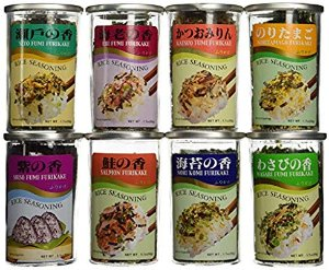 Amazon.com : Rice Seasoning Furikake 8 Variety Furikake Set : Mixed Spices And Seasonings : Gateway