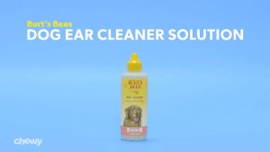Burt's Bees Dog Ear Cleaner Solution, 4-oz bottle - Chewy.com