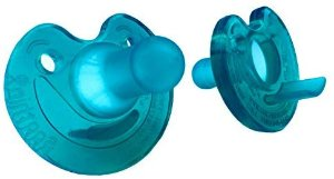 Amazon.com : Philips Notched Newborn Soothie Pacifier, Green, 0-3 Months, Hospital Binky - Natural Scent (2pack) : Baby