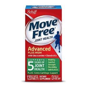 Schiff Move Free Bone & Joint Supplement, Glucosamine Chondroitin + MSM, Tablets | Walgreens