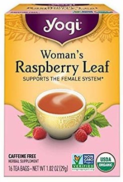 Amazon.com : Yogi Teas: Woman's Raspberry Leaf Tea, 16 ct (3 pack) : Herbal Teas : Grocery & Gourmet Food