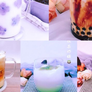 【自制黑糖珍珠奶茶】,珍珠粉圆Q弹,黑糖奶茶浓郁,学会...