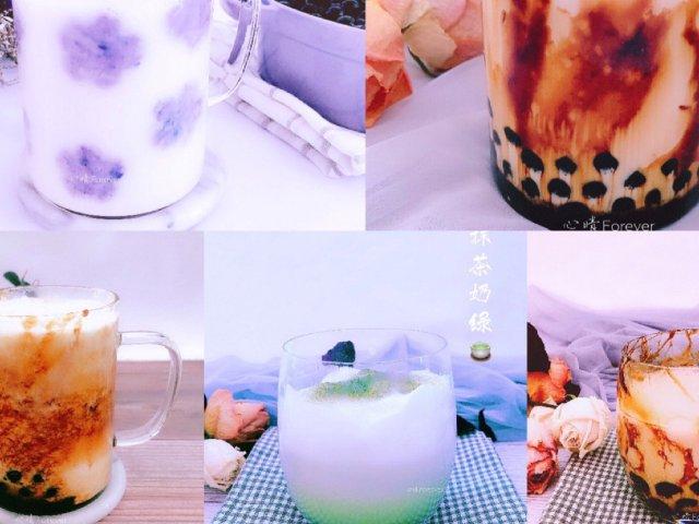 【自制黑糖珍珠奶茶】,珍珠粉圆Q弹...