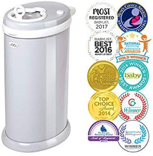 Amazon.com: Ubbi Steel Odor Locking, No Special Bag Required Money Saving, Awards-Winning, Modern Design Registry Must-Have Diaper Pail, Gray: Baby