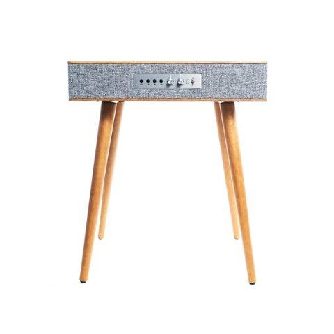 $89.99 支持无线充电Sierra 现代风格小木桌,内置扬声器