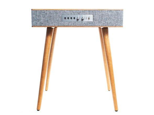 Sierra 现代风格小木桌,内置扬声器