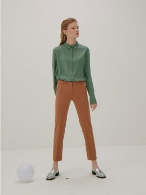 FRONTROW [Drama Collection] Slim Straight Trousers │Curated Collections of Global Independent Designers