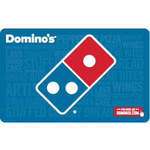 $42.99Domino's $50 Pizza Gift Card