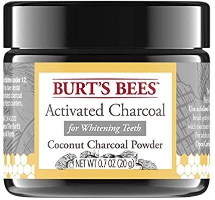 Burt's Bees活性炭洁牙粉 椰子味 20克 让牙齿更亮白
