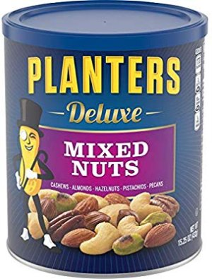 Amazon.com : Planters Deluxe Mixed Nuts (15.25oz Canister) : Gateway
