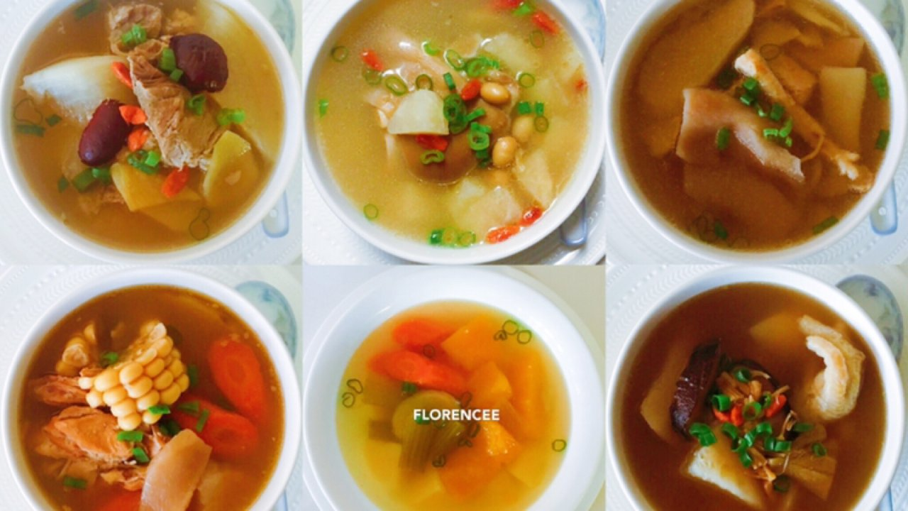 Instant Pot汤品合集,10款好汤每天一款不重样