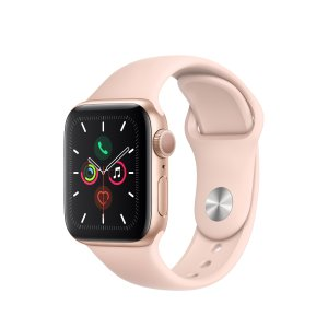$299 还等SE吗史低价:Apple Watch Series 5 (GPS, 40mm) 智能手表