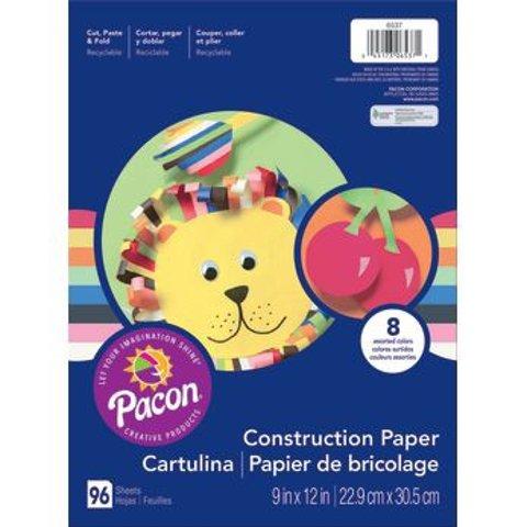 Art Street® Construction Paper, 9